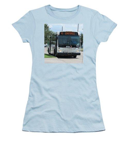 Cemeteries - Rapid Transit Authority - New Orleans La Women's T-Shirt (Athletic Fit)