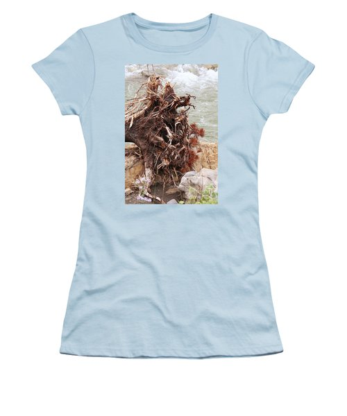 Ravaged Roots Women's T-Shirt (Athletic Fit)