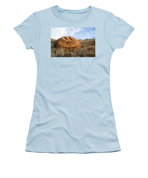 Red Rock Coulee I Women's T-Shirt (Athletic Fit)