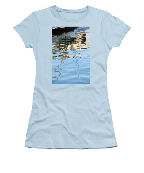 Reflections - White Women's T-Shirt (Athletic Fit)