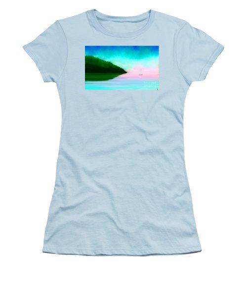 Reflections Women's T-Shirt (Junior Cut) by Anita Lewis