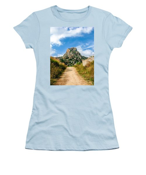 Road Into The Hills Women's T-Shirt (Athletic Fit)