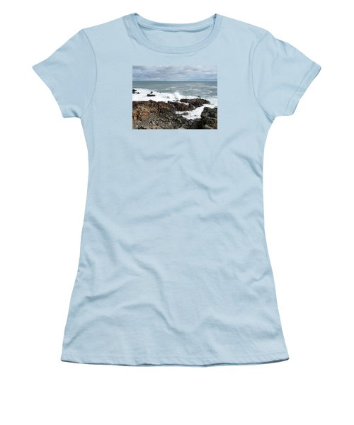 Rocky Coast Women's T-Shirt (Junior Cut) by Catherine Gagne