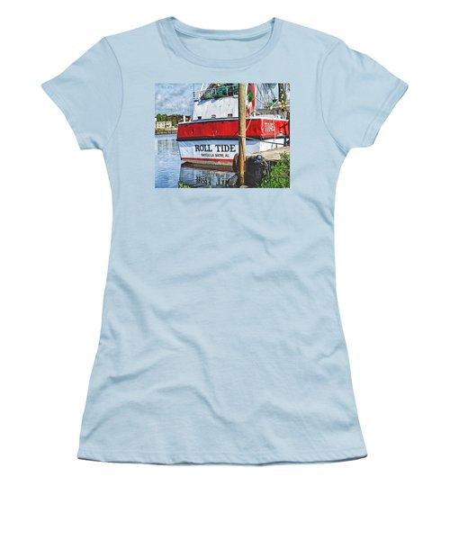 Roll Tide Stern Women's T-Shirt (Athletic Fit)