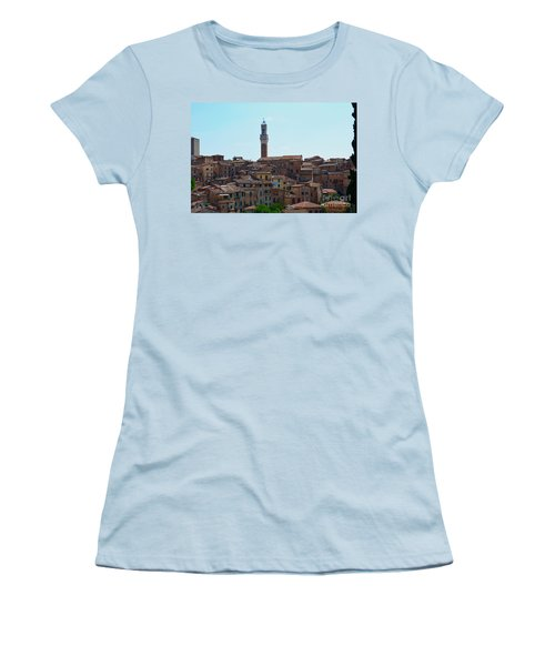 Roofs Of Siena Women's T-Shirt (Athletic Fit)