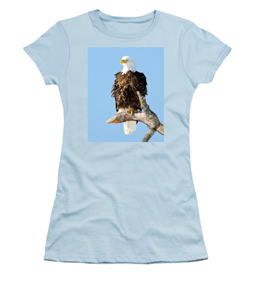 Ruffled Eagle Women's T-Shirt (Athletic Fit)
