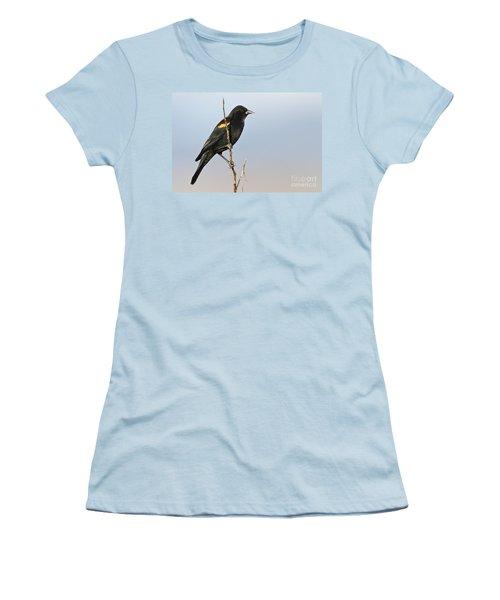 Rwbb On Stick Women's T-Shirt (Athletic Fit)
