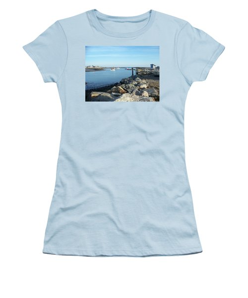 Rye Harbor  Women's T-Shirt (Athletic Fit)