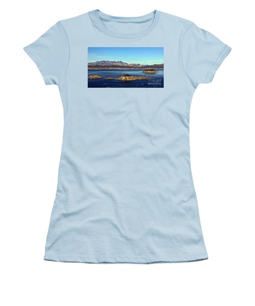 Women's T-Shirt (Junior Cut) featuring the photograph Sail Away by Tammy Espino