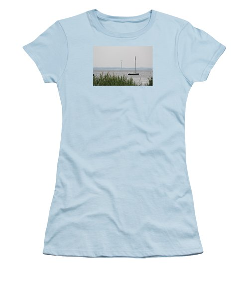 Women's T-Shirt (Junior Cut) featuring the photograph Sailboat by David Jackson