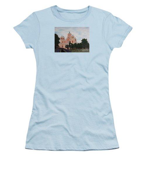 Saint Marko Church  Belgrade  Serbia  Women's T-Shirt (Junior Cut)