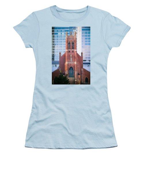 Saint Patrick's Church San Francisco Women's T-Shirt (Junior Cut)