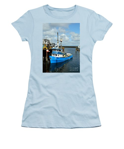 Santa Maria Offload Women's T-Shirt (Junior Cut) by Chalet Roome-Rigdon