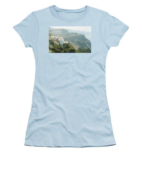 Santorini Women's T-Shirt (Athletic Fit)