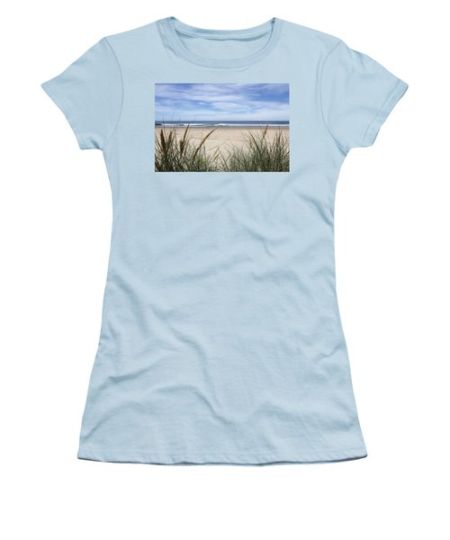Scenic Oceanview Women's T-Shirt (Junior Cut) by Athena Mckinzie