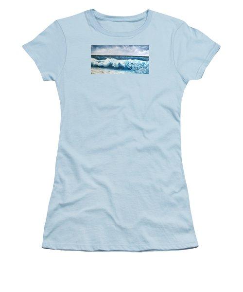 Seagulls Women's T-Shirt (Junior Cut) by Katia Aho