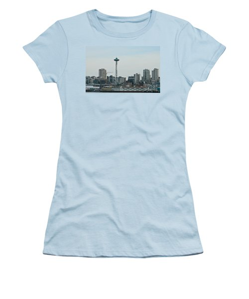 Seattle Washington Women's T-Shirt (Junior Cut) by Chalet Roome-Rigdon