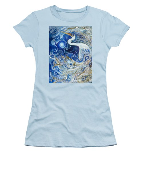 Seeking Balance Women's T-Shirt (Athletic Fit)