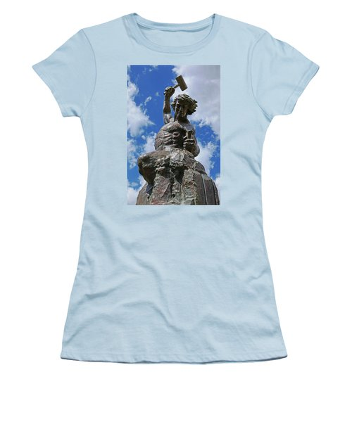 Self Made Man Women's T-Shirt (Athletic Fit)