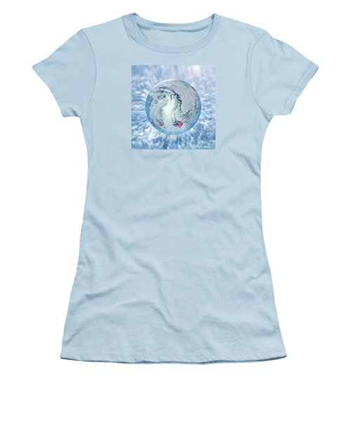 Shades Of Winter Women's T-Shirt (Junior Cut) by Robin Moline