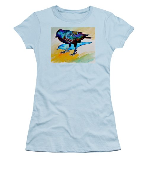 Shadowland Visitor Women's T-Shirt (Junior Cut) by Beverley Harper Tinsley