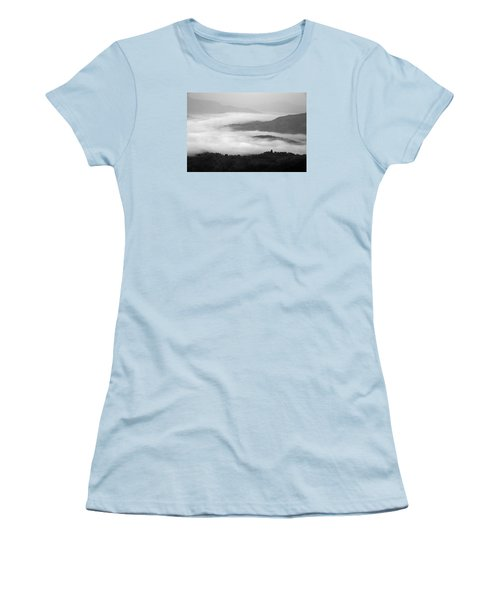 Women's T-Shirt (Junior Cut) featuring the photograph Skc 0064 Heaven On Earth by Sunil Kapadia
