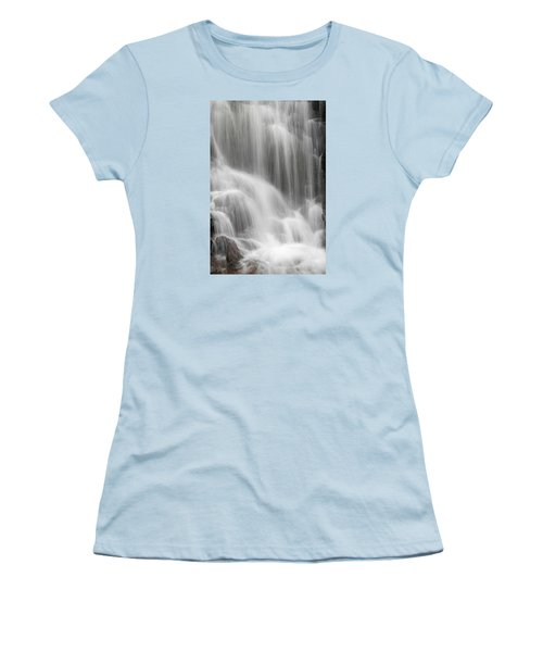 Women's T-Shirt (Junior Cut) featuring the photograph Skc 1419 A Smooth Pattern by Sunil Kapadia