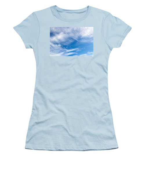 Sky Painting II Women's T-Shirt (Athletic Fit)