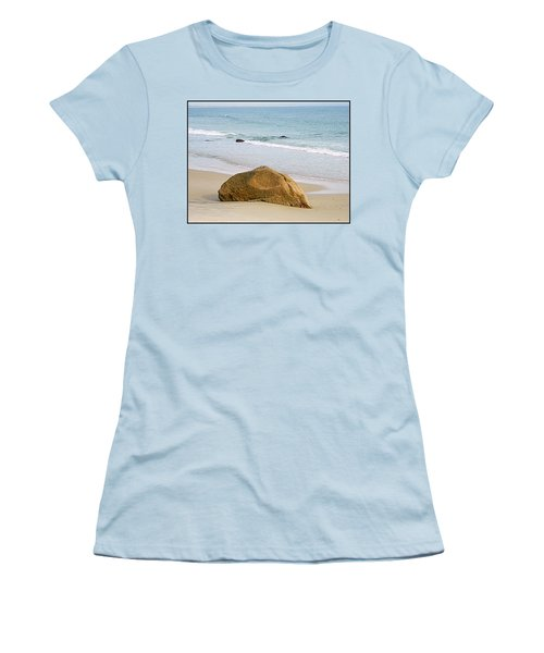 Sleeping Giant  Women's T-Shirt (Junior Cut) by Kathy Barney