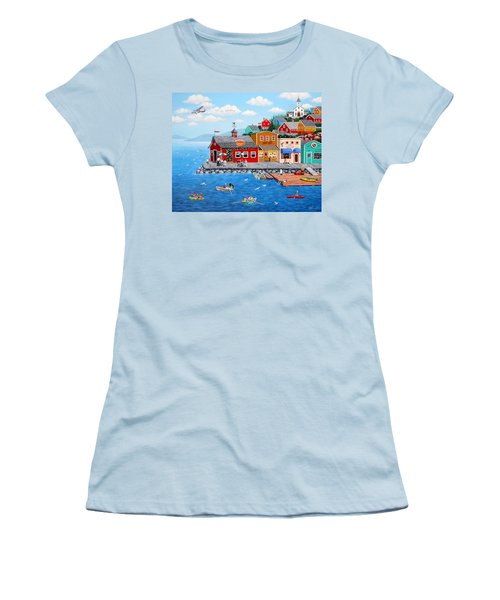 Smiley's Women's T-Shirt (Athletic Fit)