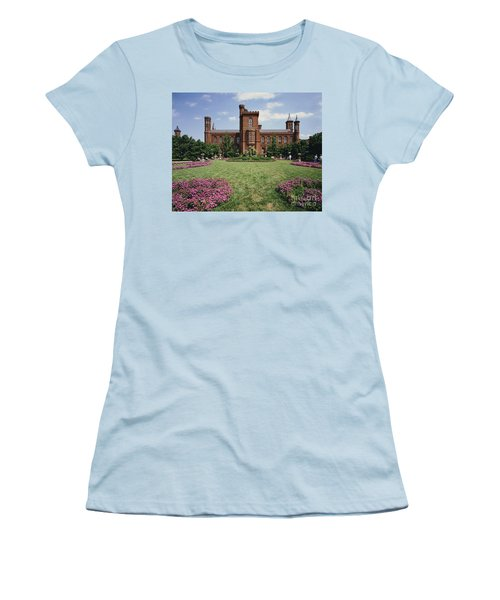 Smithsonian Institution Building Women's T-Shirt (Athletic Fit)