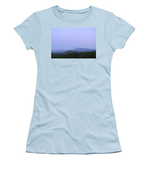 Smokies At Dusk Women's T-Shirt (Athletic Fit)