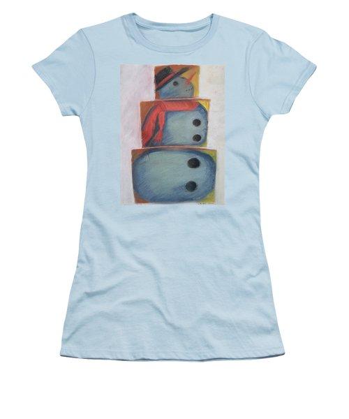 S'no Man Women's T-Shirt (Athletic Fit)
