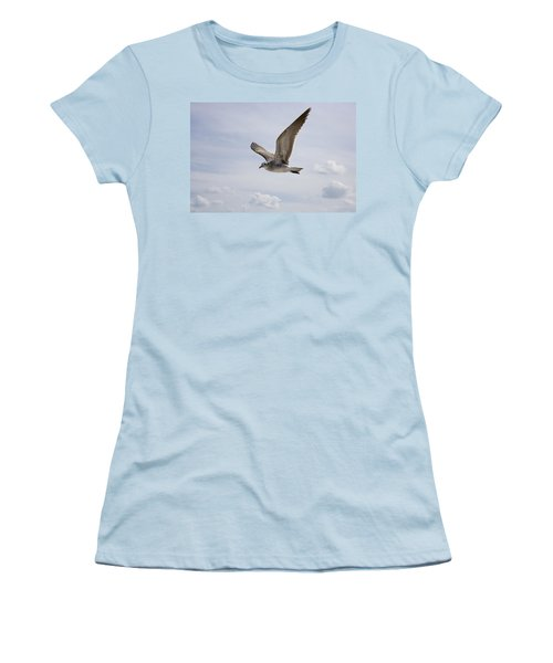 Soaring Gull Women's T-Shirt (Athletic Fit)