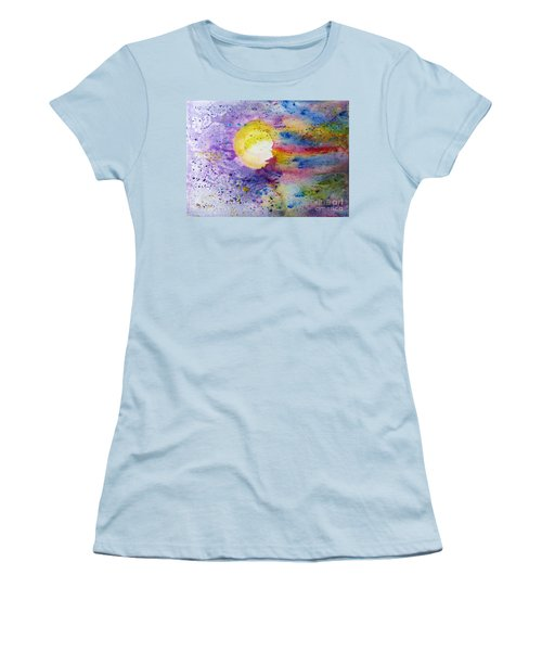 Solar Flair Women's T-Shirt (Junior Cut) by Desiree Paquette