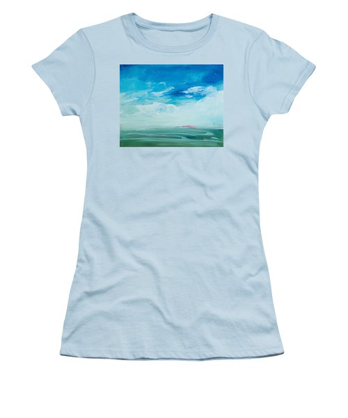 Somewhere Beyond The Sea Women's T-Shirt (Athletic Fit)