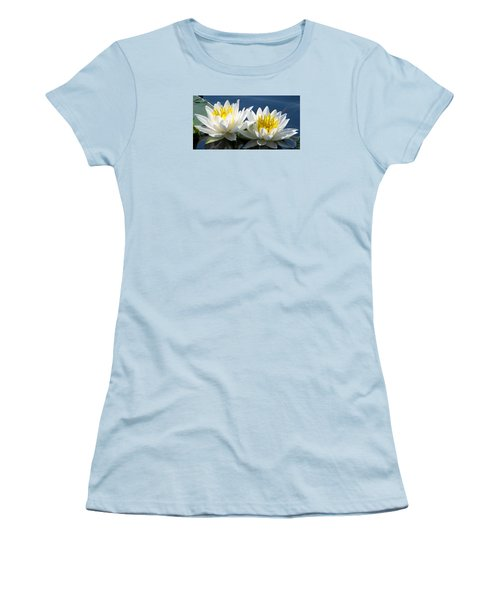 Women's T-Shirt (Junior Cut) featuring the photograph Soulmates by Angela Davies