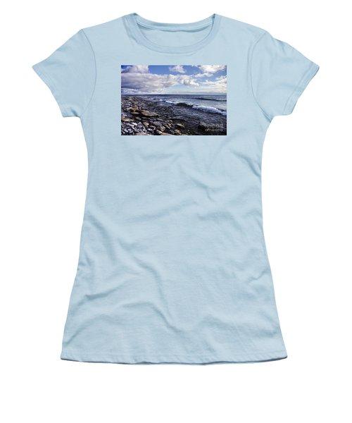 South Shore Amherst Island Women's T-Shirt (Junior Cut) by Michael Cummings