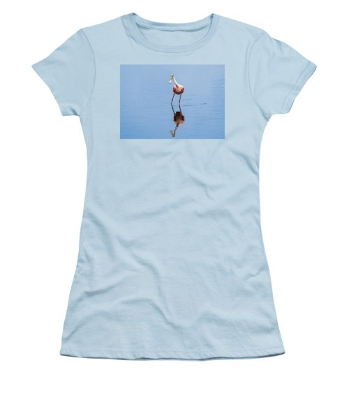 Women's T-Shirt (Junior Cut) featuring the photograph Spoonie Striking A Pose by John M Bailey