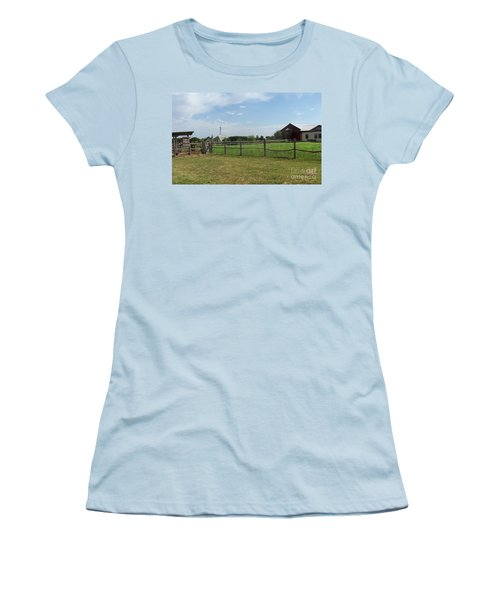 Springtime Serenity Women's T-Shirt (Athletic Fit)