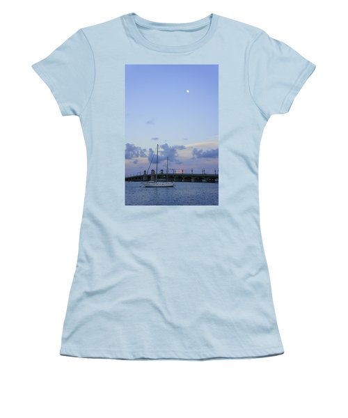 St. Augustine Sunset Women's T-Shirt (Athletic Fit)