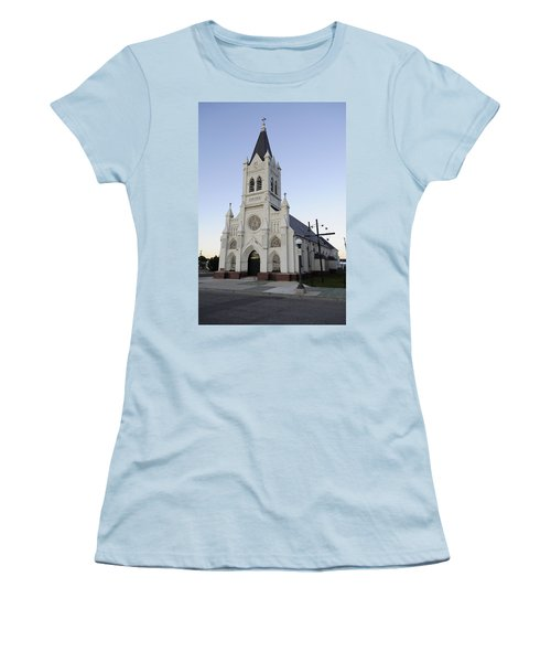 Women's T-Shirt (Junior Cut) featuring the photograph St. Peter's by Fran Riley