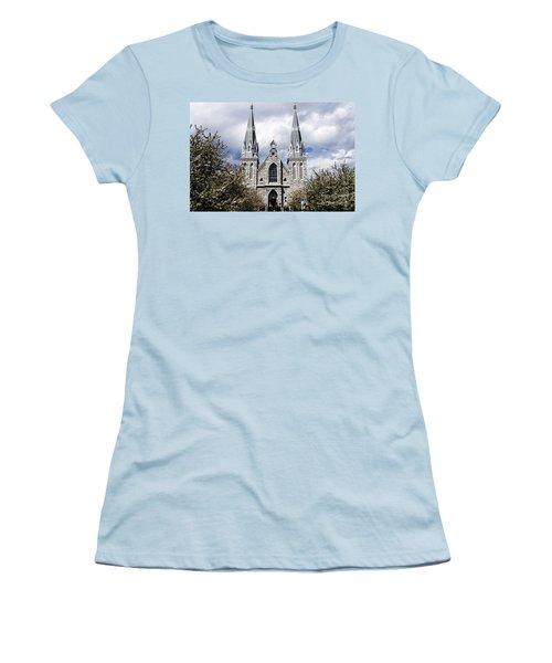 St. Thomas Of Villanova 2 Women's T-Shirt (Athletic Fit)