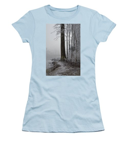 Steep And Frost Women's T-Shirt (Athletic Fit)