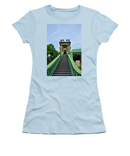 Steps To Muslim Mystic Shrine Singapore Women's T-Shirt (Junior Cut) by Imran Ahmed