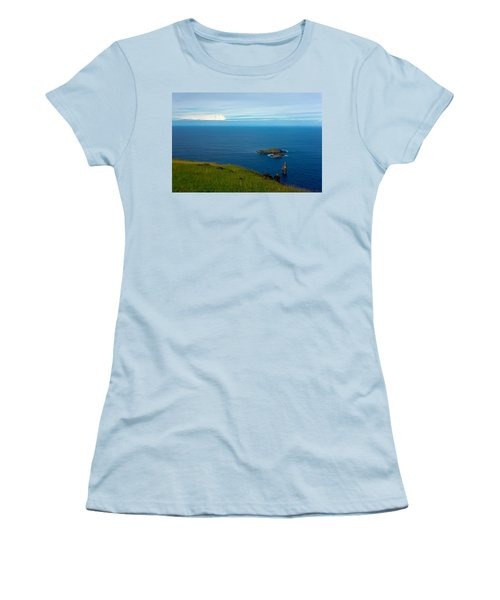 Storm On The Horizon Women's T-Shirt (Athletic Fit)