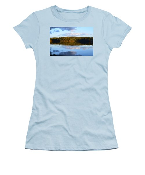 Stormclouds Scatter Women's T-Shirt (Athletic Fit)