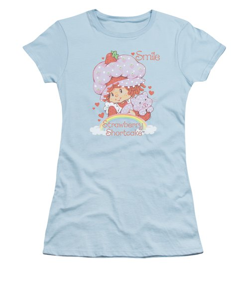 Strawberry Shortcake - Smile Women's T-Shirt (Junior Cut) by Brand A