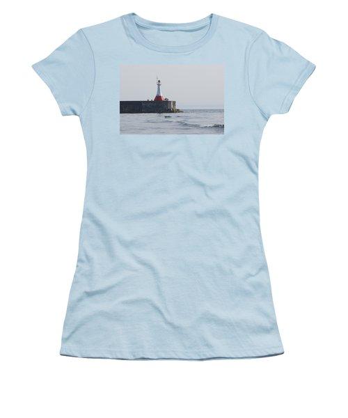 Women's T-Shirt (Junior Cut) featuring the photograph Summer Day by Marilyn Wilson