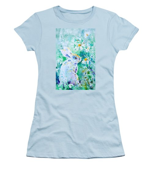 Summer Smells Women's T-Shirt (Junior Cut) by Zaira Dzhaubaeva